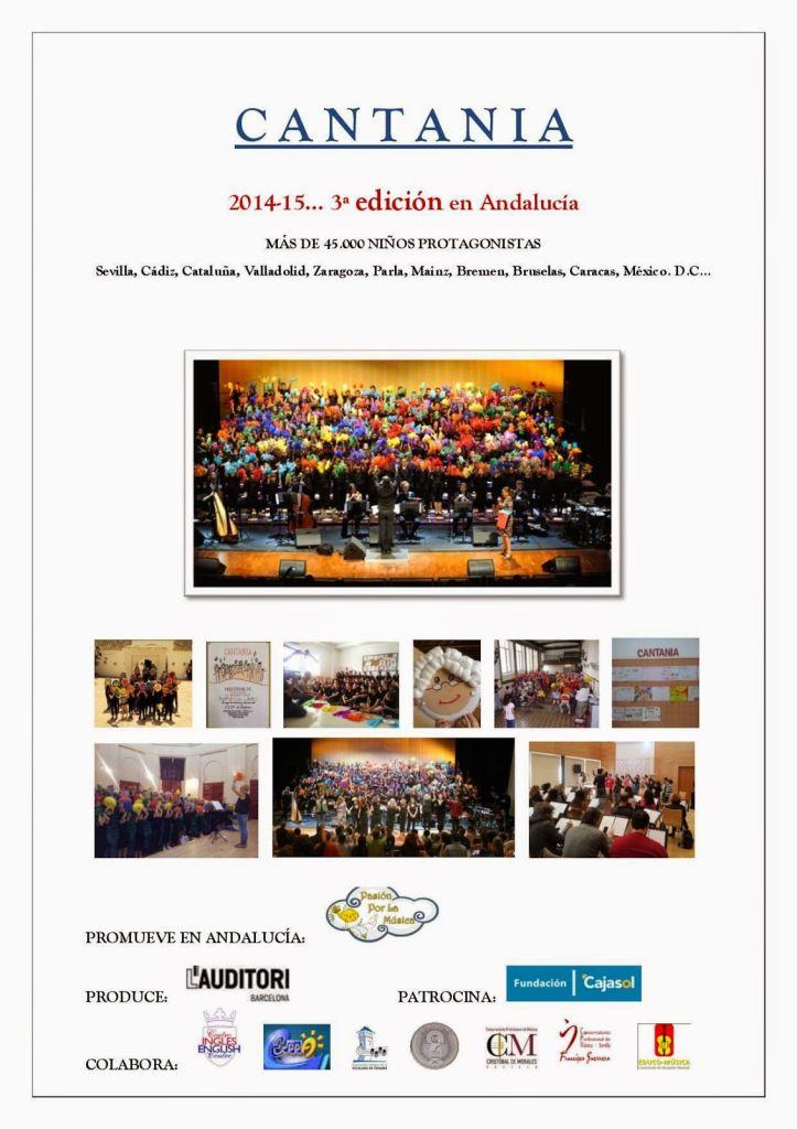 Presentación CANTANIA 2014-2015